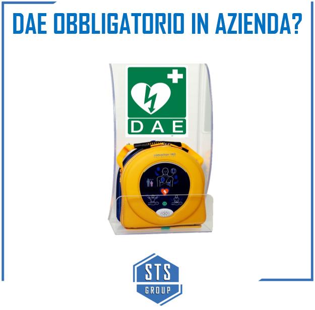 Defibrillatore obbligatorio in azienda?
