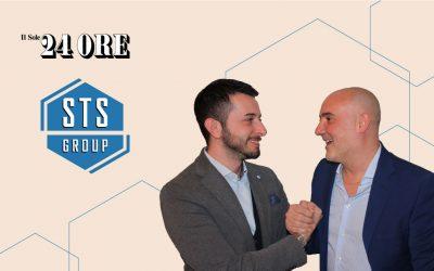 Il Sole 24 Ore parla di Sts Group. Siamo una soluzione per le aziende.